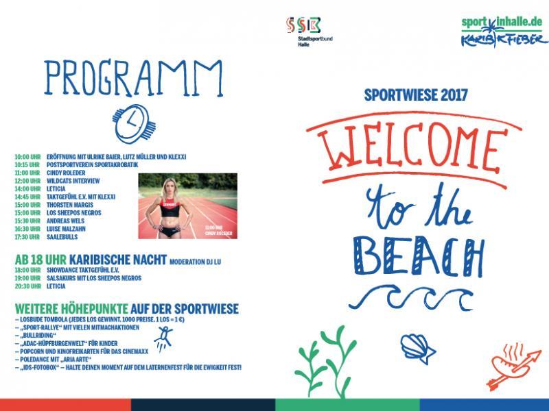 Sportwiese Auf Dem Laternenfest Stadtsportbund Halle Saale