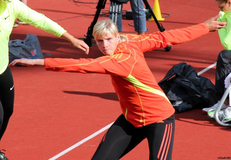 Nadine Müller - Halles Sportlerin des Jahres 2013