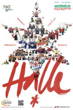 "Sportmagazin ""Willkommen in Halle"""