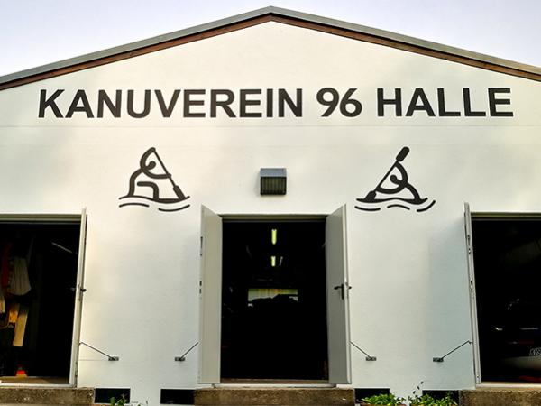 Bootshaus vom Kanuverein 96 Halle e.V.